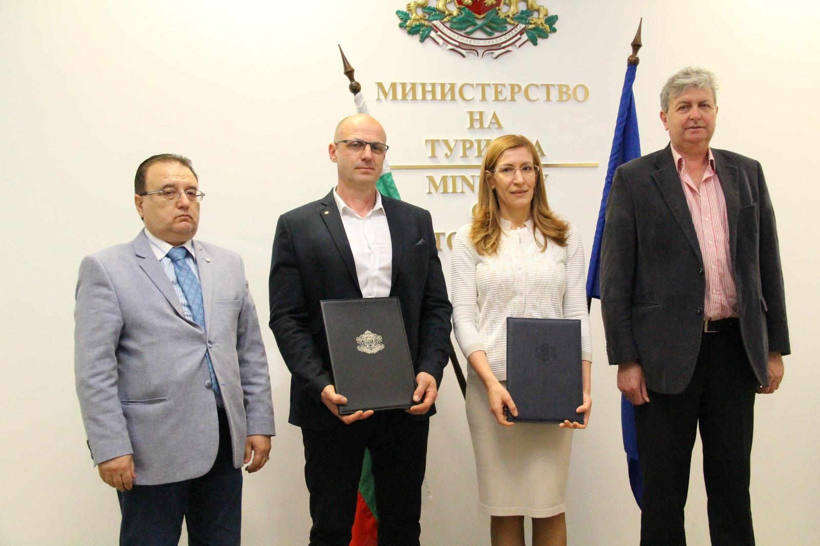 Министър Ангелкова и ръководството на БХРА подписаха споразумение за партньорство