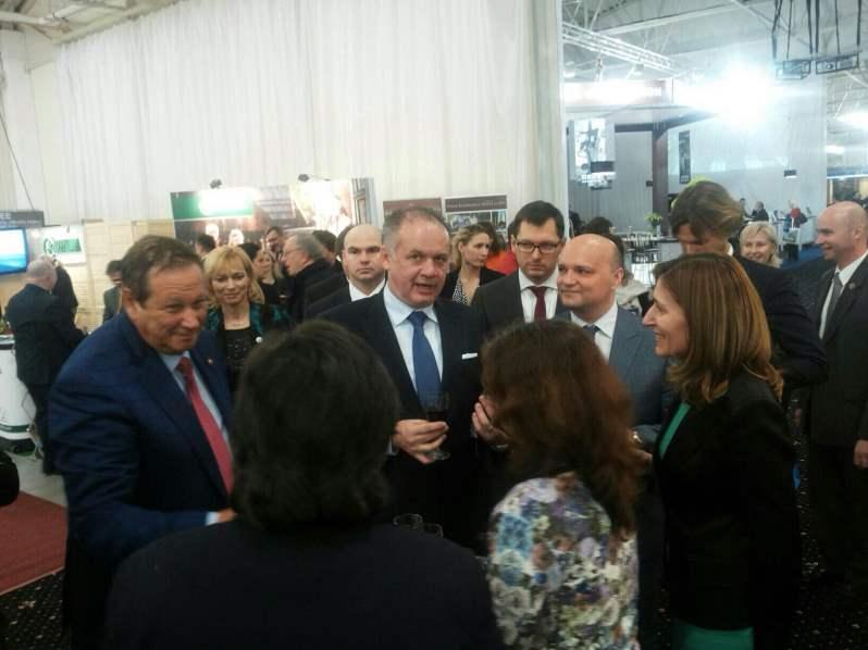 Николина Ангелкова се срещна с президента на Словакия Андрей Киска в Братислава