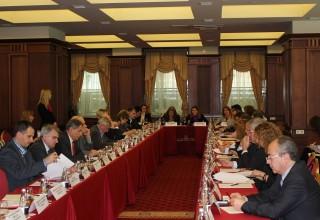 Снимка от Националния съвет по туризъм, който се проведе днес (29.02.2016 г.)