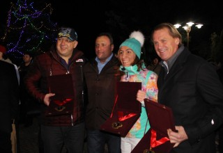 During the ceremony the city mayor Georgi Ikonomov awarded Minister Nikolina Angelkova and Minister Krassen Kralev the sign of Bansko for their consistent efforts to develop the winter resort. The mayor's sign was also awarded to the two-time Olympic champion Marcus Vasmayer.