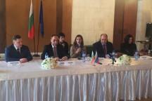 Снимка от кръглата маса, която Министерството на туризма организира в Москва.