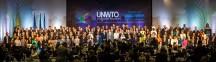 Обща снимка на делегатите на 21-вата Генерална асамблея на Световната организация по туризъм