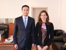 министърът на туризма Николина Ангелкова и министърът на външните работи Даниел Митов