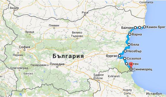 Morskite Kreposti Na Blgariya Ministerstvo Na Turizma